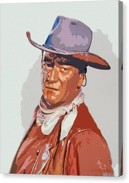 John Wayne - The Duke Canvas Print