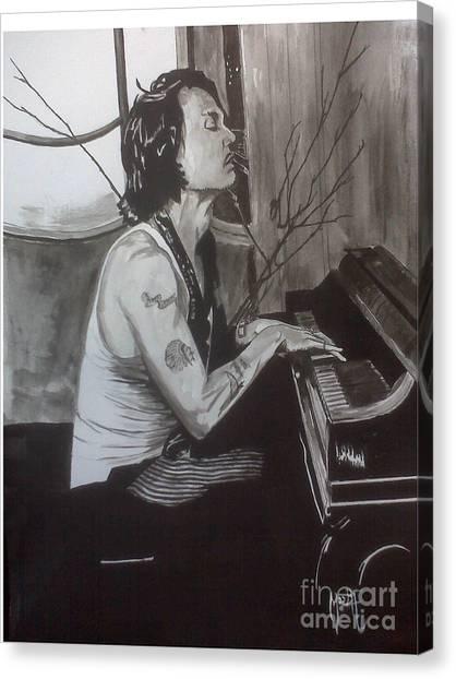 Johnny Depp 1 Canvas Print