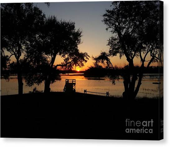 Johns Island Sunset Canvas Print