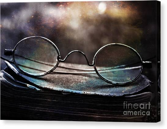 Harry Potter Canvas Print - Join Me And Confront Your Fate by Samantha Paige Howard
