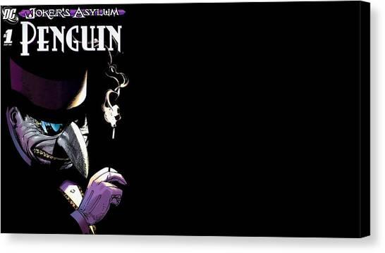 Design Canvas Print - Joker's Asylum by Maye Loeser
