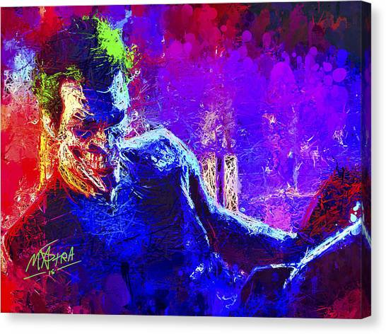 Joker's Grin Canvas Print