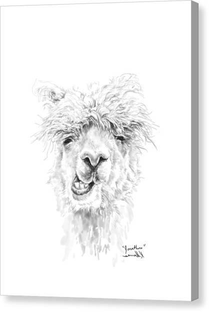 Canvas Print - Jonathon by K Llamas