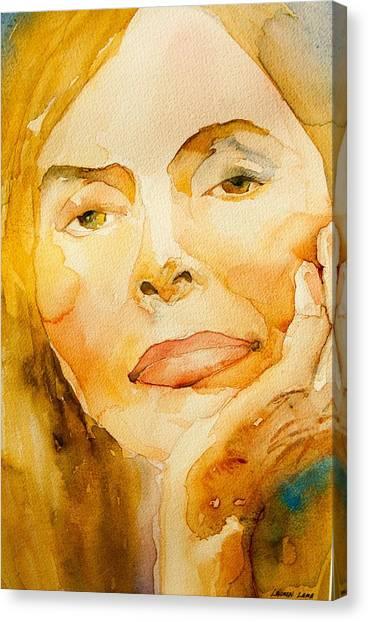 Joni Mitchell Canvas Print - Joni by Lauren Lamb