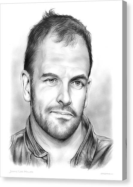 Trainspotting Canvas Print - Jonny Lee Miller by Greg Joens