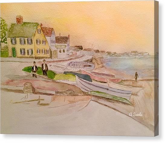 Joppa Flats Newburyport Canvas Print