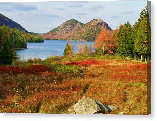 Jordan Pond 2 Canvas Print