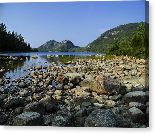 Jordan Pond No.1 Canvas Print
