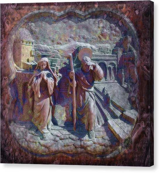 Joseph And Mary1 Canvas Print