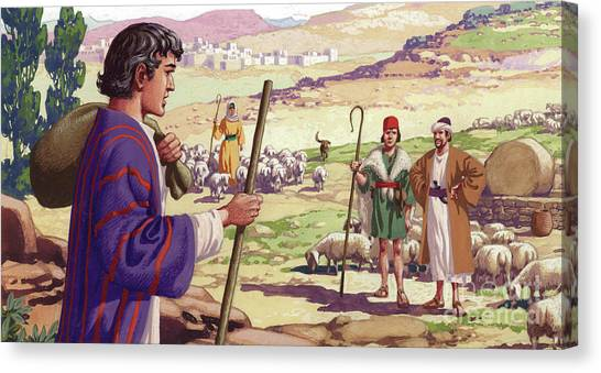 Holy Land Canvas Print - Joseph by Pat Nicolle