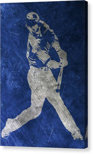 Toronto Blue Jays Canvas Print - Josh Donaldson Toronto Blue Jays Art by Joe Hamilton