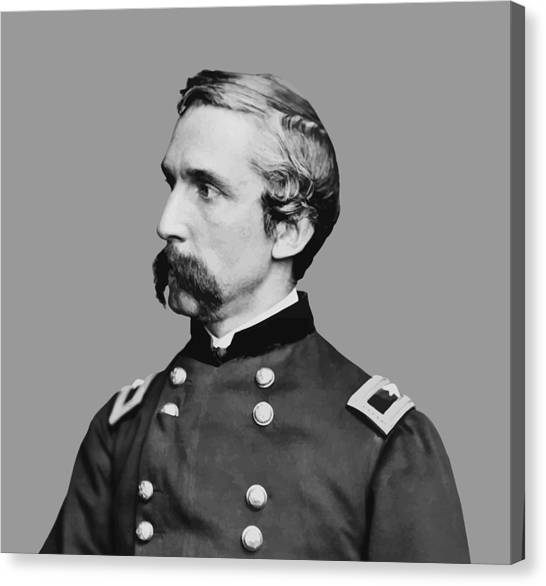 Honor Canvas Print - Joshua Lawrence Chamberlain by War Is Hell Store