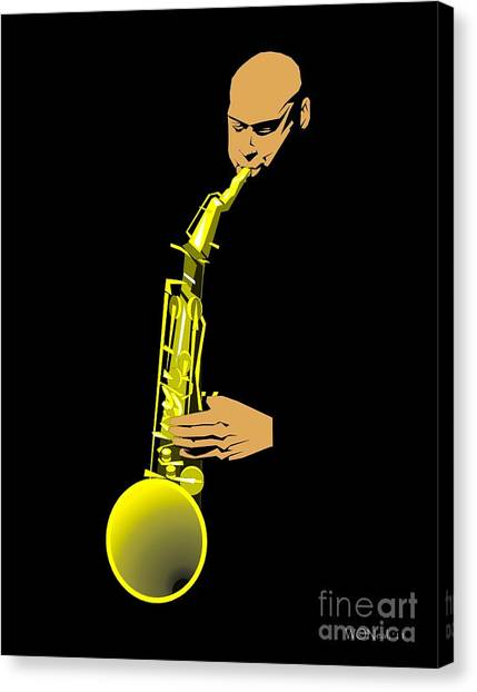 Joshua Redman Canvas Print