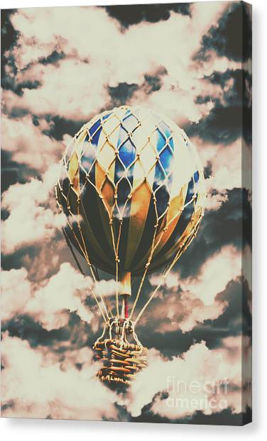 Hot Air Balloons Canvas Print - Journey Beyond by Jorgo Photography - Wall Art Gallery