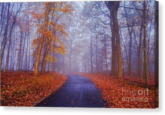 Journey Continues Canvas Print