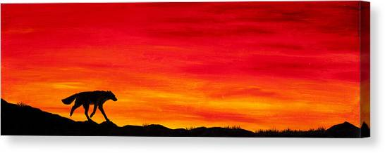 Journey Home Canvas Print