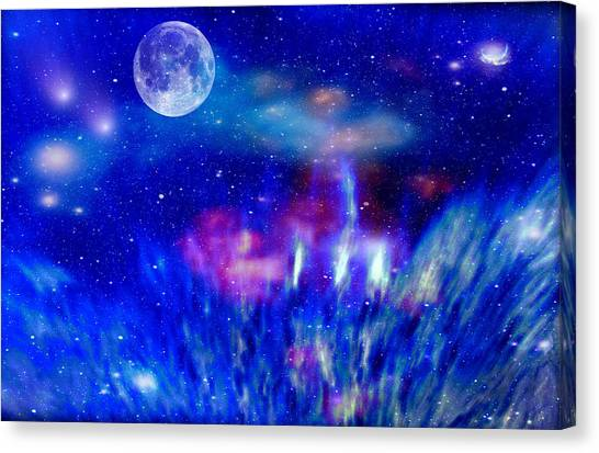 Journey Into The Universe Canvas Print
