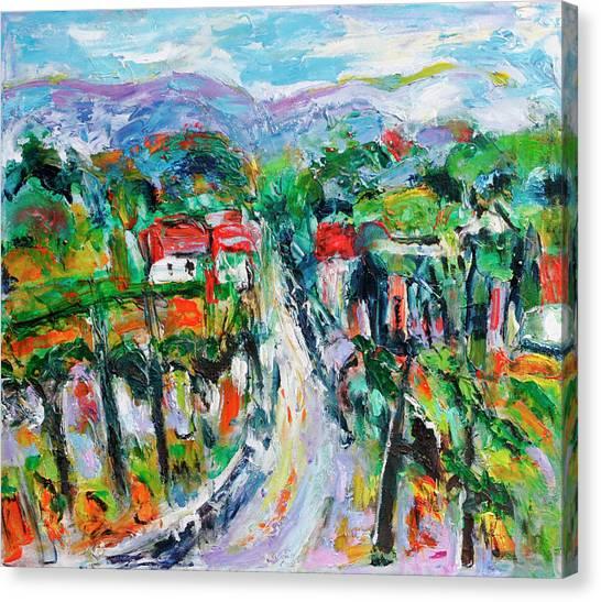 Journey Through The Vines Canvas Print