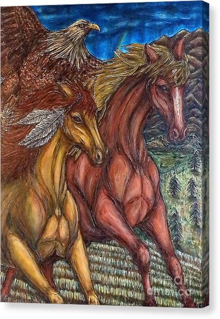 Journey Together Canvas Print