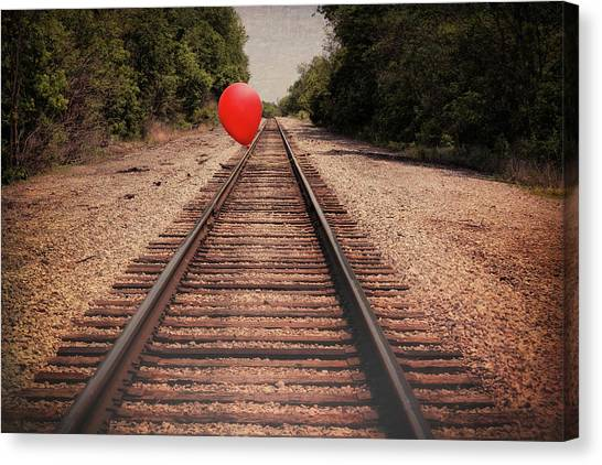 Railroads Canvas Print - Journey by Tom Mc Nemar