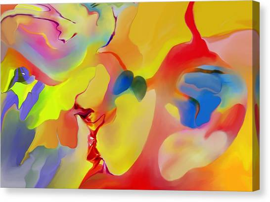 Joy And Imagination Canvas Print by Peter Shor