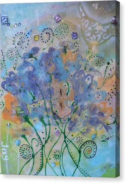 Joy By Mimi Stirn Canvas Print
