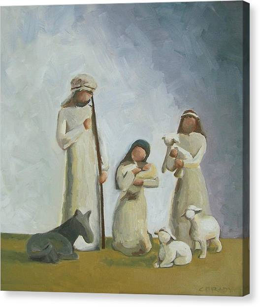 Joy Canvas Print by Chelsie Brady
