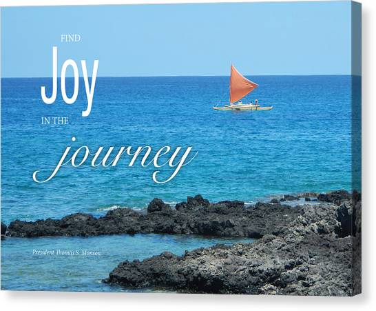 Joy In The Journey Canvas Print
