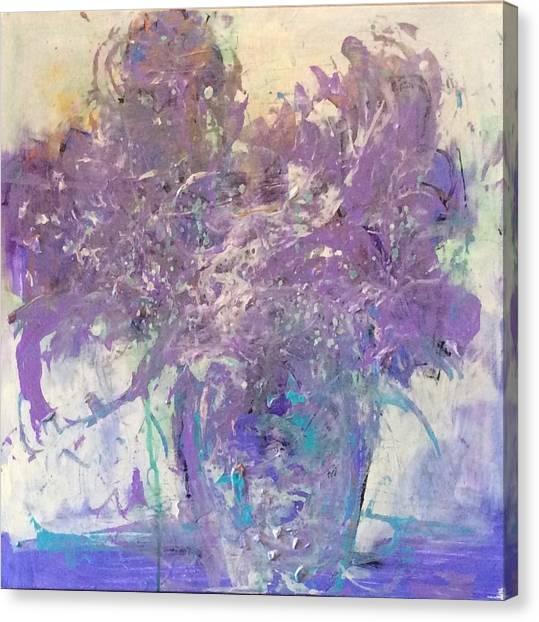 Joy Canvas Print by Karen Ann Patton
