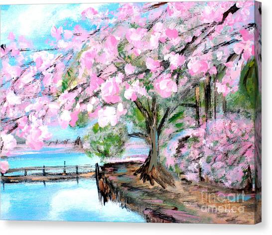 Joy Of Spring. For Sale Art Prints And Cards Canvas Print