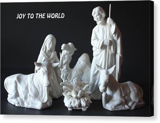 Joy To The World Canvas Print by Angela Comperry