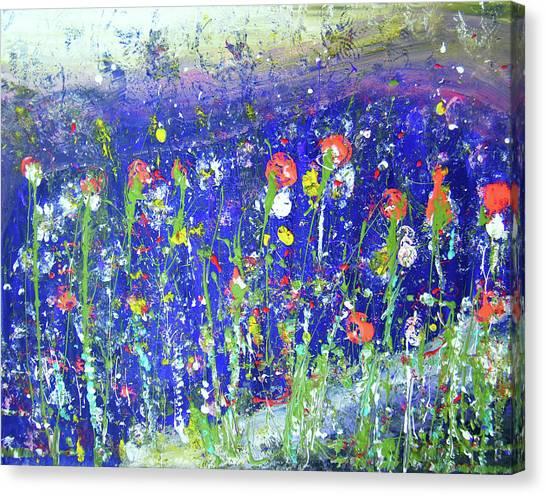 Joyful Element Canvas Print