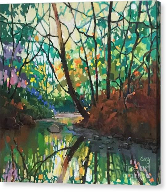 Joyful Morning Canvas Print