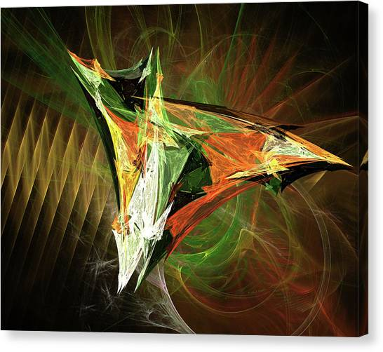 Jpk Digital Abstract 002 Canvas Print