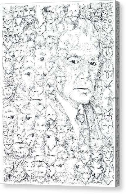 Juan Rulfo Sombra De Arreguin Canvas Print