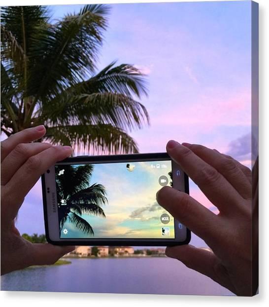 Florida Canvas Print - #juansilvaphotos #photography #mobile by Juan Silva