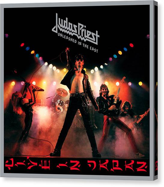 Priests Canvas Print - Judas Priest by Jackie Russo