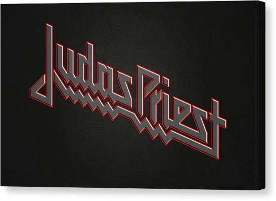 Priests Canvas Print - Judas Priest by Super Lovely