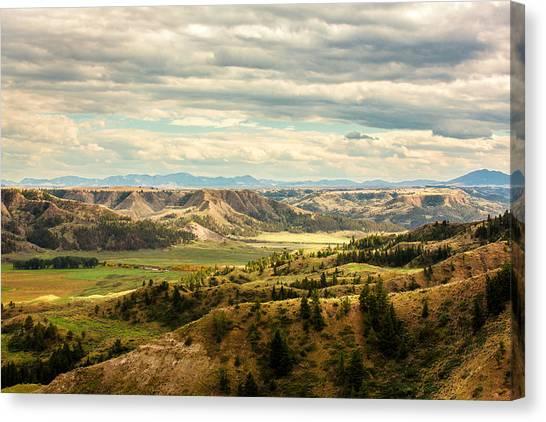 Judith River Breaks Canvas Print