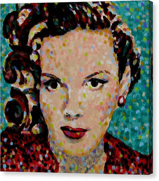 Judy Garland Canvas Print - Judy by Denise Landis
