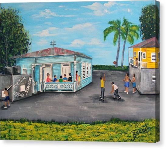 Juegos De Mi Infancia  Canvas Print