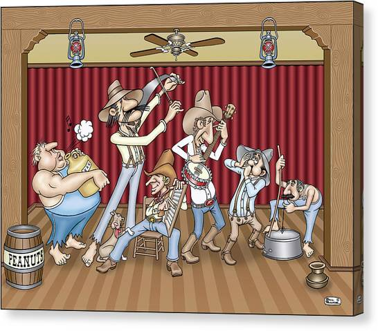 Canvas Print - Jug Band by Bill Proctor