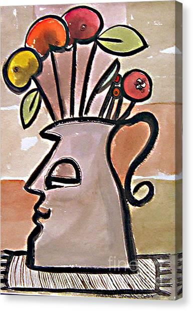 Jug Face Canvas Print