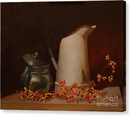 Jugs Canvas Print