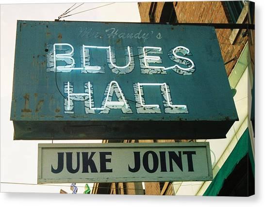 Juke Joint Canvas Print
