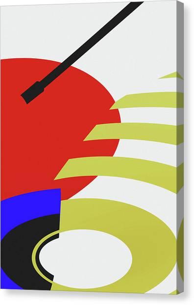 Jukebox Canvas Print - Jukebox by Richard Rizzo