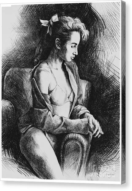 Julia 2 Canvas Print