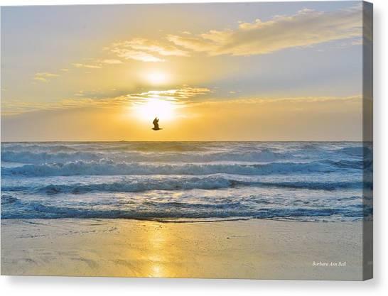 July 30 Sunrise Nh Canvas Print