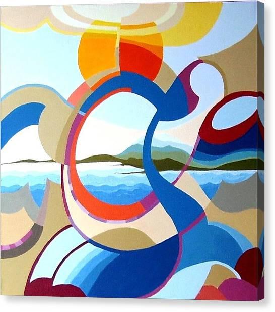 July Canvas Print by Carola Ann-Margret Forsberg