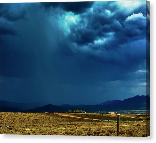July Monsoons Canvas Print
